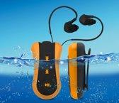 Difrnce MPW720 - Waterproof MP3 speler - 4GB - Oranje