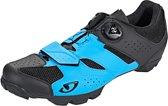 Giro Cylinder schoenen Heren blauw/zwart Schoenmaat 42