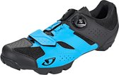 Giro Cylinder Schoenen Heren, blue/black Schoenmaat EU 42