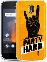 Nokia 1 Hoesje Party Hard 2.0