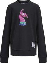 JACK&JONES JUNIOR Jongens Sweater Fortnite - Tap Shoe - Maat 176