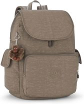 Kipling City Pack L - Laptop Rugzak - Soft Earthy C