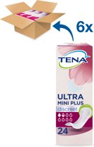 TENA Lady  Maandverband Ultra Mini Plus - 6 x 24