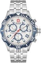 Swiss Military Hanowa 06-5305.04.001.03 horloge heren - zilver - edelstaal