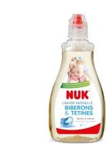 NUK 10750327 Flessenreiniger 500ml   Reinigen van flesse, spenen en accesoires op basis van natuurlijke ingredienten   Transparant