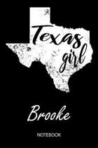 Texas Girl - Brooke - Notebook