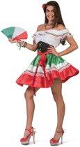 Spaans & Mexicaans Kostuum | Caramba Carlita Hete Mexicaanse Nachten | Vrouw | Maat 44-46 | Bierfeest | Verkleedkleding