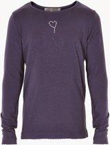 Creamie - meisjes shirt - Crissy LS basic - blauw - Maat 116