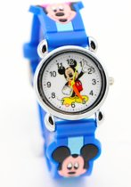 Mickey Mouse Kinderhorloge - Blauw