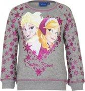 Frozen trui grijs voor meisjes 128