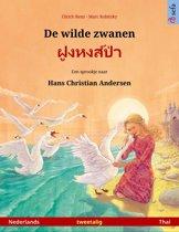 Sefa prentenboeken in twee talen - De wilde zwanen – ฝูงหงส์ป่า (Nederlands – Thai)