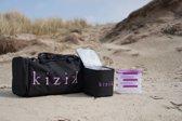 Kizik sporttas - fitness - tas voor crossfit - koeltas - eetbakjes - rugzak - Roze - Zwart - dames & heren