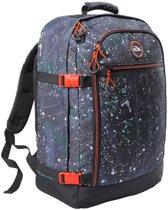 CabinMax Metz – Handbagage - Rugzak 44l– Schooltas - 55x40x20cm – Lichtgewicht - Zwart Nocturna  (MZ SP-NA)