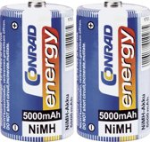 Conrad 250306 household battery Rechargeable battery Nikkel-Metaalhydride (NiMH)