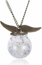 Necklace Wings Glass