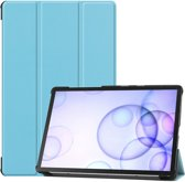 Samsung Galaxy Tab S6 Hoesje - Smart Book Case - Lichtblauw