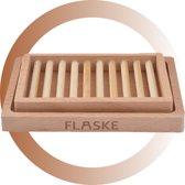 FLASKE - Bamboe - Zeepbakje
