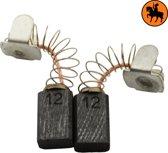 Koolborstelset voor Protool Boor 631031 - 5x8x12,5mm - Vervangt 627003