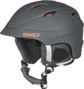 Sinner Gallix II - Skihelm - Volwassenen - 57-58 cm / Maat M - Donkergrijs