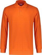 Workman Polosweater Outfitters Rib Board - 9309 oranje - Maat 5XL