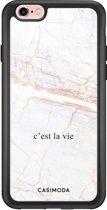 iPhone 6/6s glazen hardcase - C'est la vie