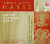 Muller/Staude/+/Guttler - Hasse,J.A.;Miserere/Salve Regina/Te