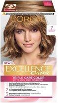 L'Oréal Paris Excellence Crème 7 - Middenblond - Haarverf