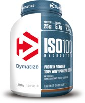 Dymatize ISO-100 Hydrolyzed - Eiwitpoeder / Eiwitshake - 2200 gram - Chocolade