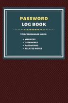 Password Log Book: Internet Address & Password Logbook