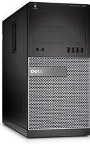 Optiplex 7020 MT/i5-4590 (3.30GHz 6MB)/8GB (2x4GB) 1600MHz/128GB SSD/Intel HD 4600/DVD RW//MUI Win7Pro64/Win8.1 OS DVD/DDP E//3Yr NBD/Black