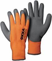 OXXA X-Grip-Thermo handschoen 51-850 oranje/ grijs maat M/8 - Set à 1 paar