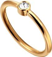 Esprit ESRG000425 Loris Ring - Staal - Goudkleurig