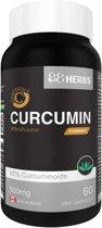 Curcumine C3 Complex™ ★ 88Herbs ★ 60 capsules ★ 500mg ★ Met Bioperine voor 20 keer betere opname in het lichaam ★ Super Antioxidant ★ Supplement