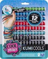 Spin Master Cool Maker Kumi Kreator Navulverpakkingen met 5 Kleuren + Extra Sjablonen Assorti