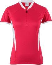 AGU Monate Fietsshirt - Maat XL  - Vrouwen - roze/wit