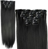 Clip In Hairextensions - Zwart