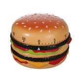 Hamburger kookwekker - 8 cm