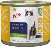 Prins NatureCare Kat Kip & Cranberry - Graanvrij - Kattenvoer - 600 gr