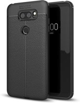 Just in Case LG V30 Back Cover Soft TPU Zwart