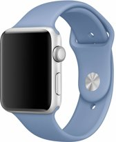 123Watches.nl Apple watch sport band - azuur - 38mm en 40mm - SM