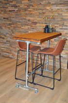 Design85 - Industriële - bartafel - Retro
