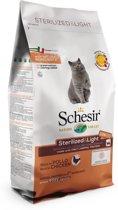 Schesir Sterilized & Light - Kattenvoer - 1.5 kg