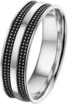 The Jewelry Collection For Men Ring Oxi - Zilver
