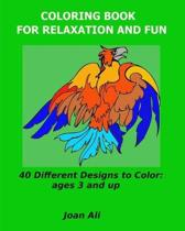 Coloring Book for Relaxation and Fun