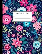 Notebook: Cute Lined Journal Ruled Composition Note Book to Draw and Write In - School Supplies for Elementary, Highschool and C