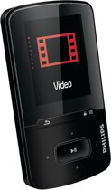 Philips GoGear Vibe - MP4 speler - 4 GB - Zwart