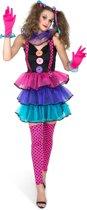 Carnaval clown kostuum voor vrouwen - Volwassenen kostuums