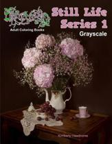 Adult Coloring Books Still Life Series 1 Grayscale