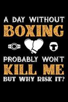 A Day Without Boxing Probably Won't Kill Me But Why Risk It?