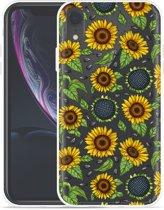 Apple iPhone Xr Hoesje Sunflowers